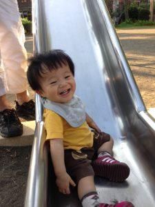 1歳6カ月の息子。外遊びが大好きです